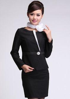 Concierge uniform google search fashion ideas i like for Uniform for spa receptionist