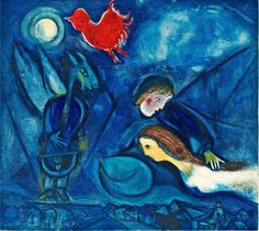 Marc Chagall, From Aleko, 1955.