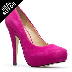 these pumps can satisfy any fashion needs from the little black dress to the maxi dres