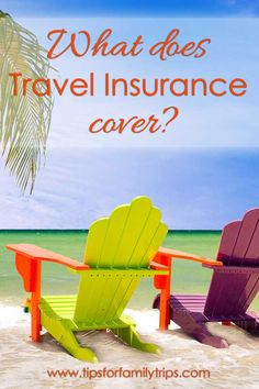 What does travel insurance cover? | tipsforfamilytrips.com | vacation | family vacation | cruise | summer | sponsored | Allianz