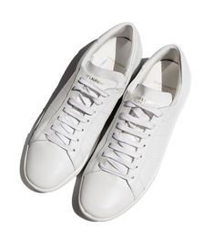 White Saint Laurent Sneakers