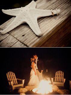 wedding ring shot on a starfish - I love this! #beach #wedding