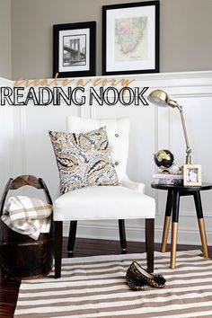 Turn an unused corner in your home into a cozy spot to sit. This easy DIY Reading Nook will help you to see those unused spaces in your home in a new light.