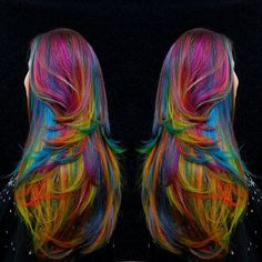 salon4:Snort helping of Fruity Pebbles #Regrann from @thereal_omgiloveyourhair - FRUITY PEBBLES never looked so good! This piece is amazing, a different look each time the hair or should I say canvas MOVES!!! It's breathtaking with the Pewter base I created in addition to the coral and medley of uniquely placed highlight and anchor COLOURS… Here in this WORK you can tell hands down I've been painting since I was a little girl. This looks like my canvas art…. I'm thrilled with it and I hope…