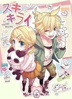 Rin & Len | Suki Kirai