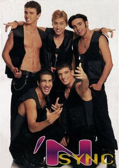 Looking back, idk how I didn't think/didn't want to believe Lance was gay....but this is why 90s boy band are better...