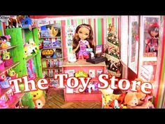How to Make a Doll Toy Store - YouTube
