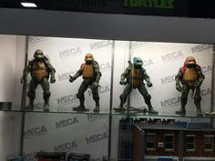 SDCC 2016 NECA: okay, so Ninja Turtles pinnacle has been reached. One less franchise to collect.