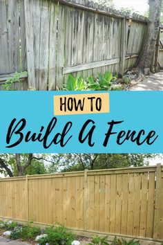 DIY Fence How to Build a Fence We had no idea how to build a fence but we worked with our neighbors and came up with an idea we loved and this project turned out better than we could have imagined diy outdoor fence fenceideas Diy Backyard Fence, Diy Privacy Fence, Diy Fence, Backyard Landscaping, Fence Ideas, Landscaping Ideas, Backyard Ideas, Modern Landscaping, Patio Ideas