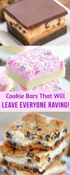 Easy Cookie Bars That Will Leave Everyone Raving! #cookiebars #dessert #recipe