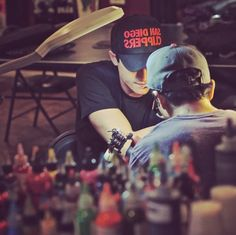 Shane Harper Getting His First Tattoo May 20, 2014