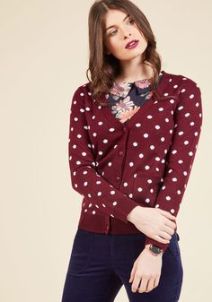 Collect Your Spots Cardigan