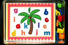 I did up a Alphabet Letter Find and Match activity to the Chicka Chicka Boom Boom file. 3 different templates with 2 mats each. (Each set covers the whole alphabet for matching).  This has been added to the Chicka Chicka Boom Boom file under the alphabet link on the 1 - 2 - 3 Learn Curriculum web site.