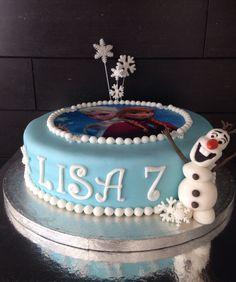 Frozencake, frozen taart.