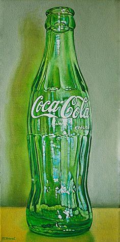 Margaret Horvat | OIL | Coke Bottle III