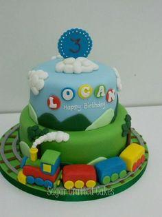Train cake idea | P.P.I. | Pinterest