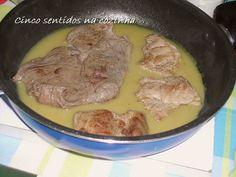 Cinco sentidos na cozinha: Bifinhos com molho de mostarda