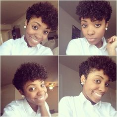 Curly tapered twa