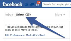 How to find your Other Messages in Facebook