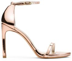 b06545938dc2 Stuart Weitzman THE NUDISTSONG SANDAL - Rose Gold Glass High Heels Heeled  Sandals Sexy Sandals