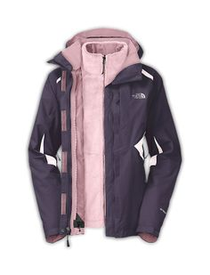 The North Face Women's Jackets & Vests WOMEN'S BOUNDARY TRICLIMATE JACKET XL