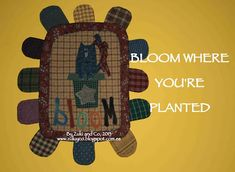 Zulu and Co : Bloom where you're planted