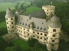 The Wewelsburg castle in Germany