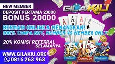 GILAKIU ADALAH SALAH SATU AGEN JUDI ONLINE TERBAIK DAN TERPERCAYA DI INDONESIA Mobiles, Hummer H2, Poker, Surabaya, Join, Travel, Viajes, Mobile Phones, Destinations