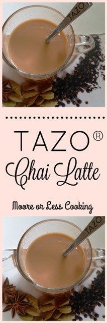 TAZO® Chai Latte #SweetMeetsSpicy #ChaiLatte #KCup #IC #ad
