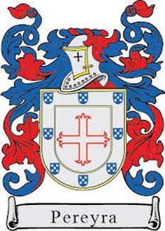 Pereyra family crest