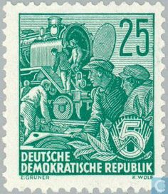 GDR - Five Year Plan 1953
