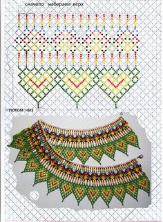 Beading Projects, Beading Tutorials, Beaded Jewelry Patterns, Beading Patterns, Diy Jewelry, Jewelry Making, Bead Crochet, Loom Beading, How To Make Beads