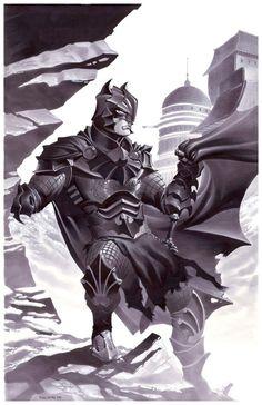 Medieval Batman by Christopher Stevens
