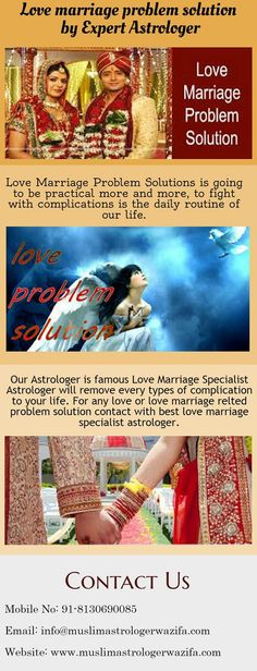 Love marriage problem solution Expert Astrologer