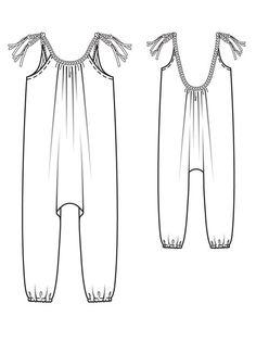 Girl's Harem Jumpsuit 05/2013 #143