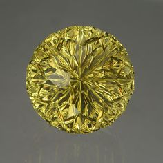 Lime Citrine gemstone by John Dyer. Huge sparkly lime! Love it!