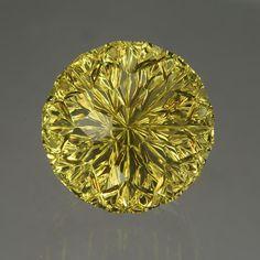 Lime Citrine gemstone by John Dyer. Huge sparkly lime! Love it!