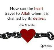 Unchain our hearts My Lord.