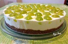 Joghurtos – citromos szőlős torta sütés nélkül! Eat Pray Love, Salty Snacks, Tiramisu, Breakfast Recipes, Cheesecake, Gluten, Pudding, Sweets, Sugar