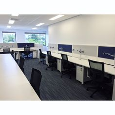 Free up valuable desk space and enhance productivity with the Focus Monitor arm- featured here in our latest office fitout 🔧… Desk Space, Productivity, Monitor, Conference Room, Table, Commercial, Arm, Furniture, Projects