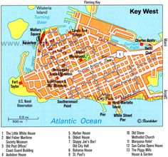 Key West | Key West Map - Attractions Always a great time in Key West.  www.MyGetawayPlan.com