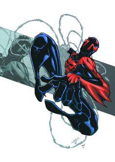 2099 spiderman...hella cool!!