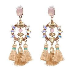 Earrings Have An Inquiring Mind Boho High Quality 2019 New Wedding Party Jewelry Accessories Hot Sale Drop Earring 1pair Water Drop India Ethnic Hollow Out To Produce An Effect Toward Clear Vision