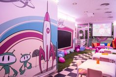 Trizcas en Kidspace de Tommy Mel's