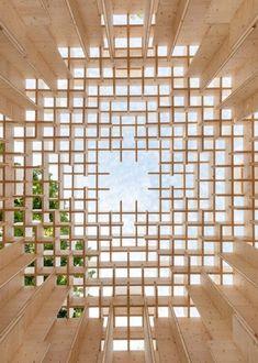 Kjellander + Sjöberg Forest of Venice installation at the Venice Architectural Biennale 2016 #pavilionarchitecture