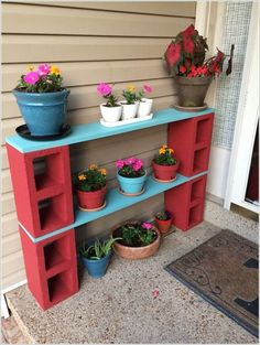 40+ Cool Ways to Use Cinder Blocks                                                                                                                                                     More