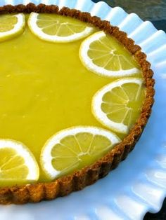 Meyer Lemon Curd Tart Recipe