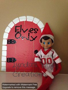 Hey, I found this really awesome Etsy listing at https://www.etsy.com/listing/210431743/elf-door-for-your-elf-on-the-shelf