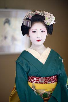 Maiko Syaka on Gion Matsuri day 2010