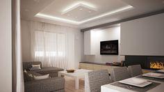 sufit podwieszany w salonie - Szukaj w Google